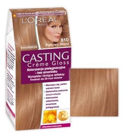 OREAL Loreal Farba Do Włosów 810 Perłowy Blond Casting Creme Gloss